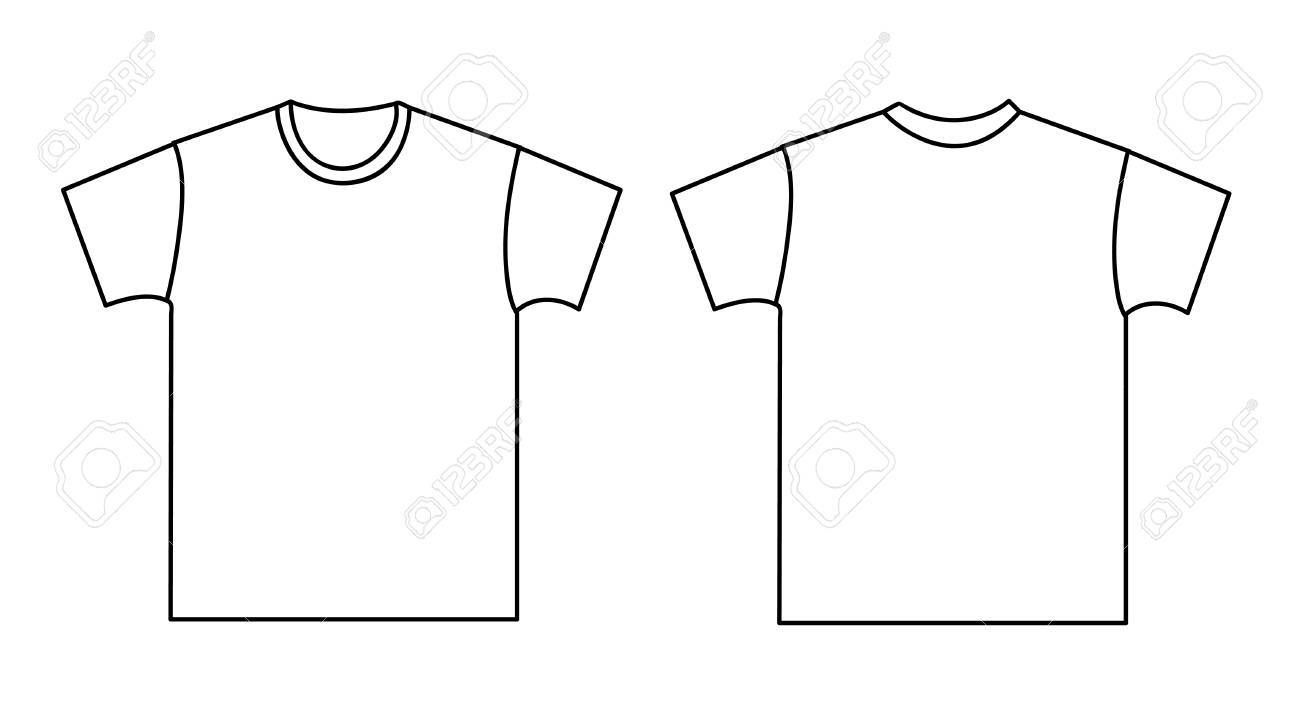 Download Blank T Shirt Template Front And Back For Blank Tee Shirt Template Great Cretive Templates Blank T Shirts Shirt Template Hoodie Template