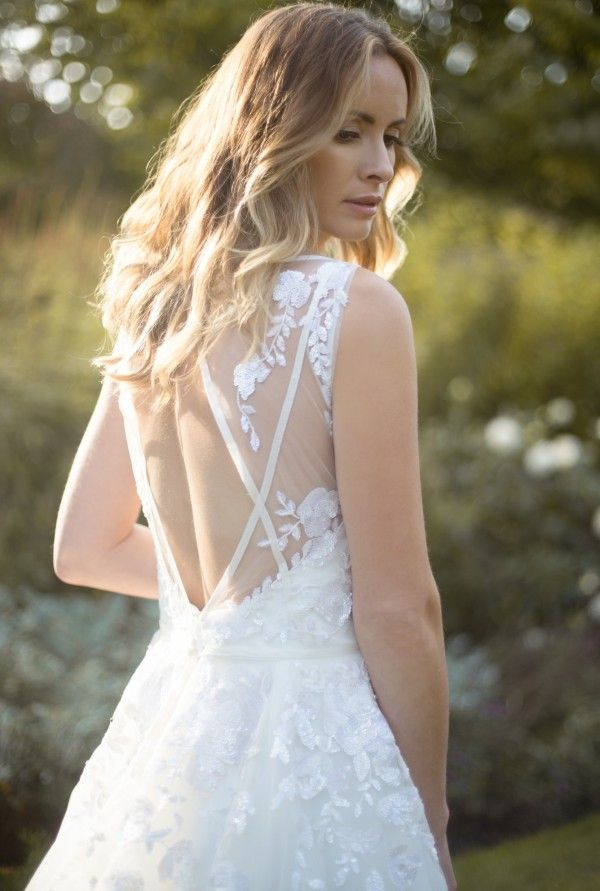 Hayley Paige Leah Dress From White Mischief Bridal Sussex My June