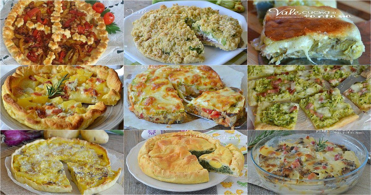 TORTE SALATE CON VERDURE (vale cucina e fantasia)   Cucina and Food