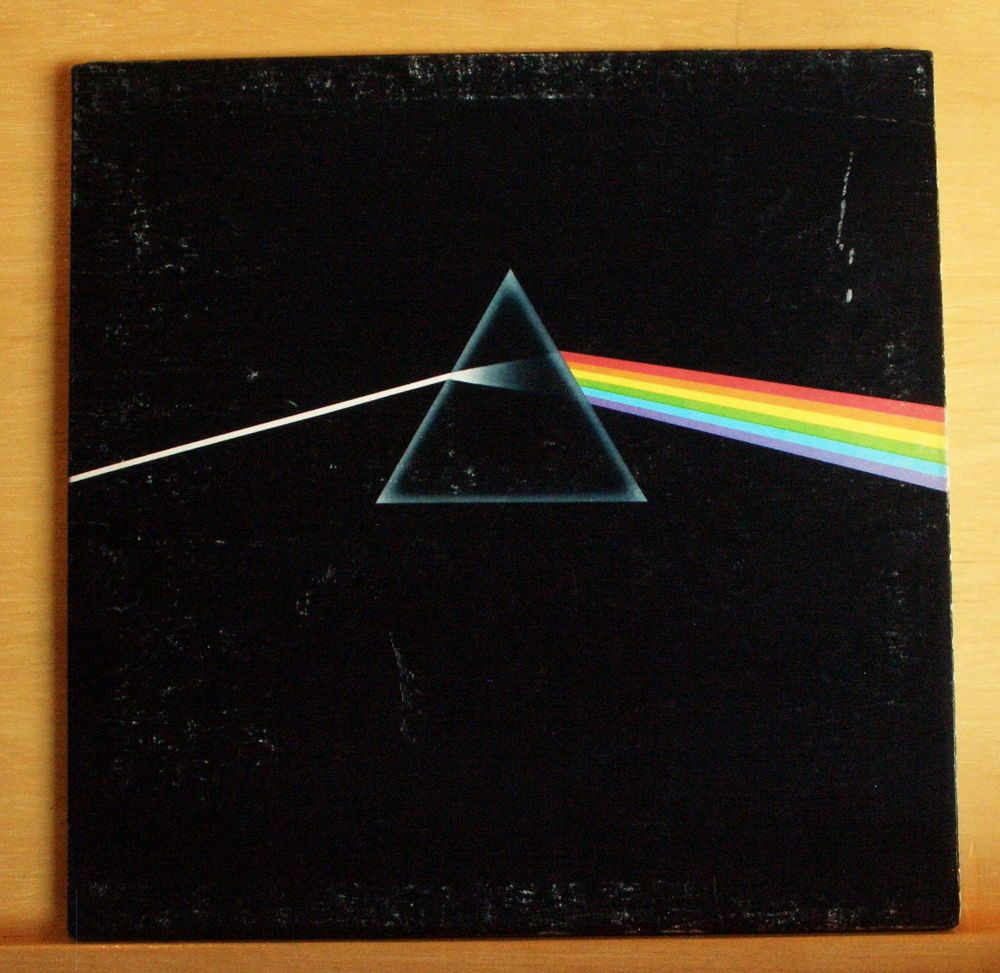 PINK FLOYD The dark Side of the Moon UK Vinyl LP Time Money Us and them Breathe
