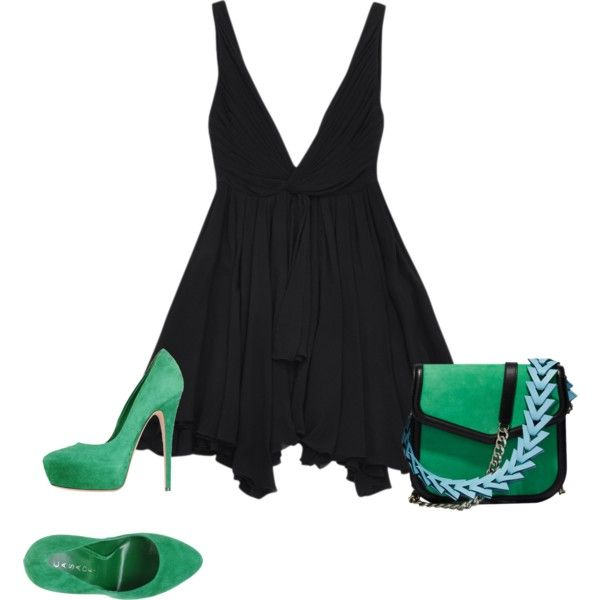 Untitled #6174 by tailichuns on Polyvore featuring polyvore fashion style Yves Saint Laurent Casadei Loewe