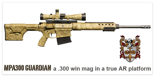MPA300 Guardian Featured Product of the NRA Annual Meeting for 2014