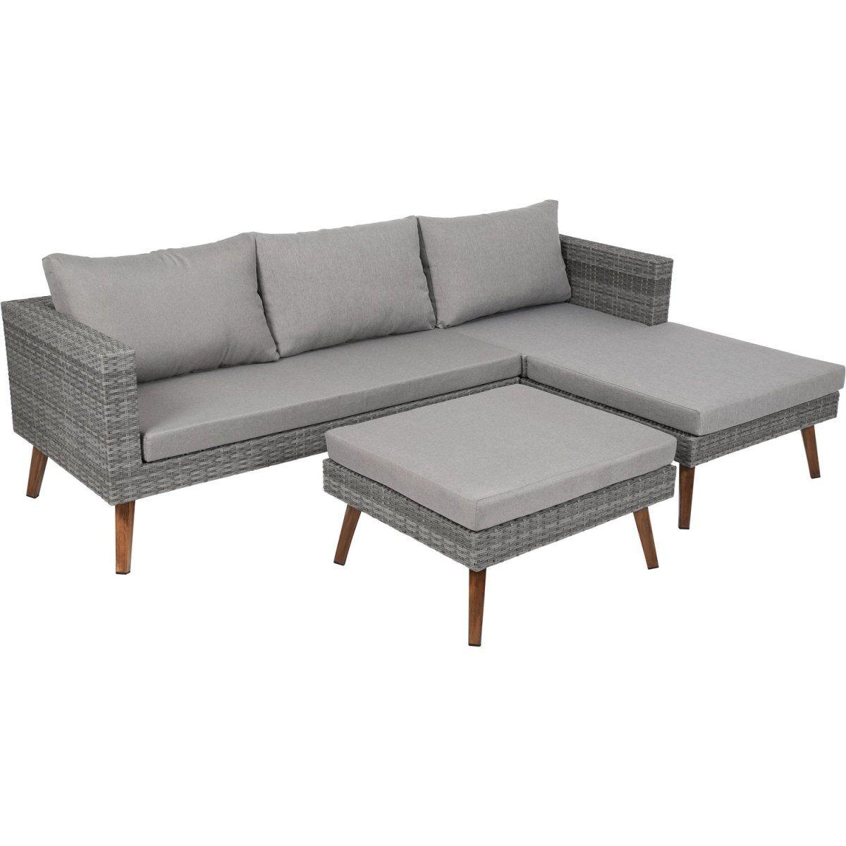 Greemotion Lounge-Gruppe Gomera 3-teilig inkl. Sitz- und ...