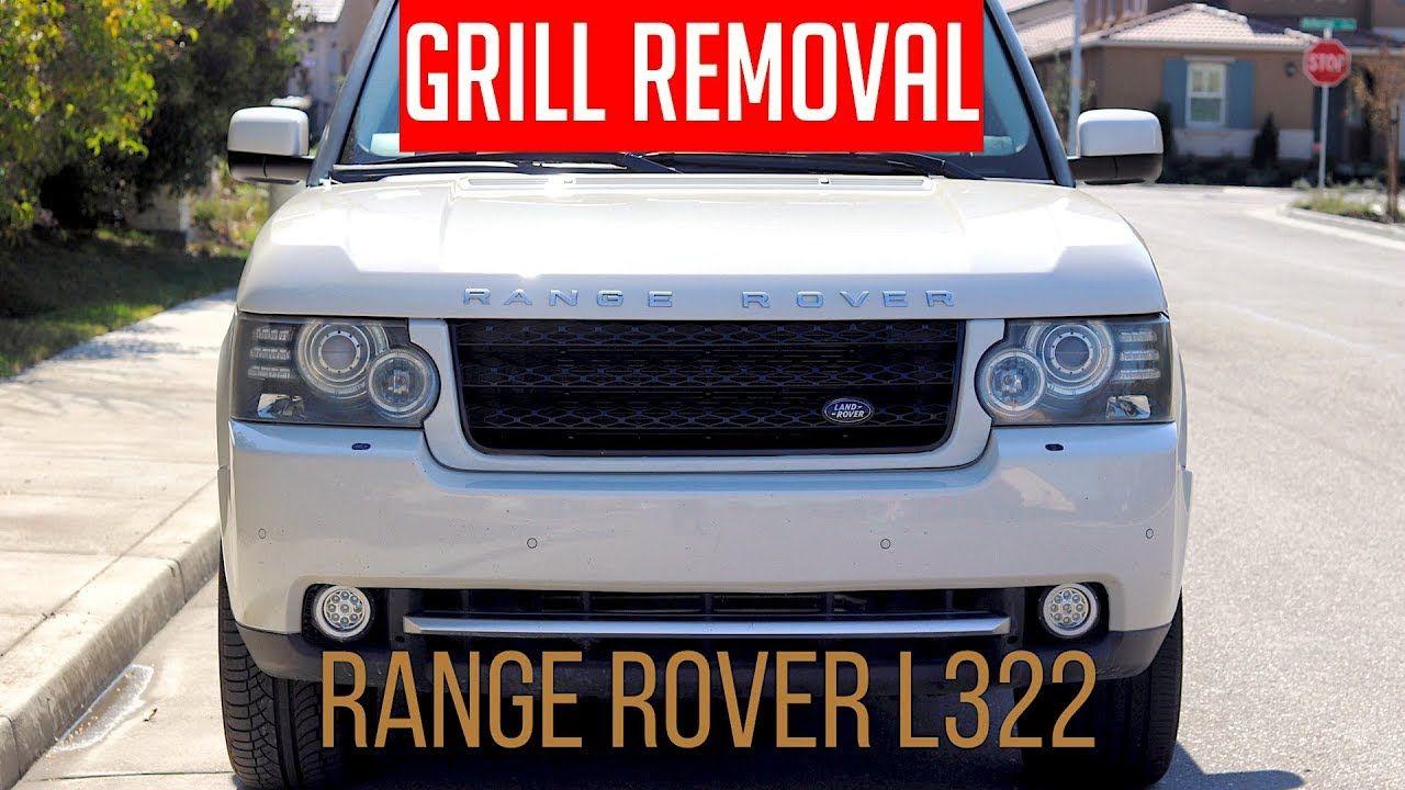 How To Remove Bumper Grill on Range Rover L322 20032012