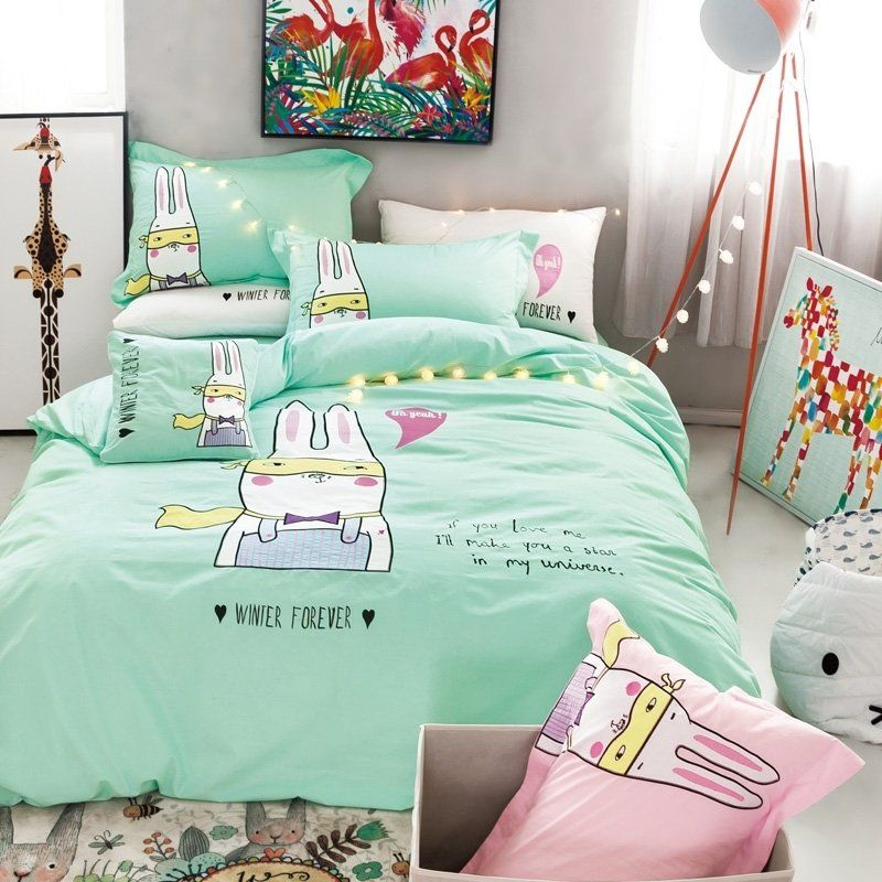 Personalized Mint Green Black White And, Mint Green And Pink Bedding