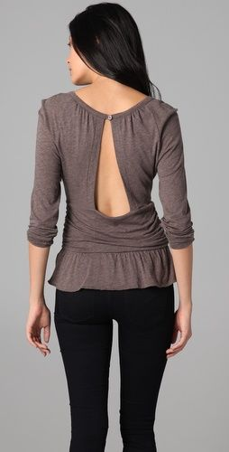 Marc by Marc Jacobs  Feather Jersey Blouse  $79.00