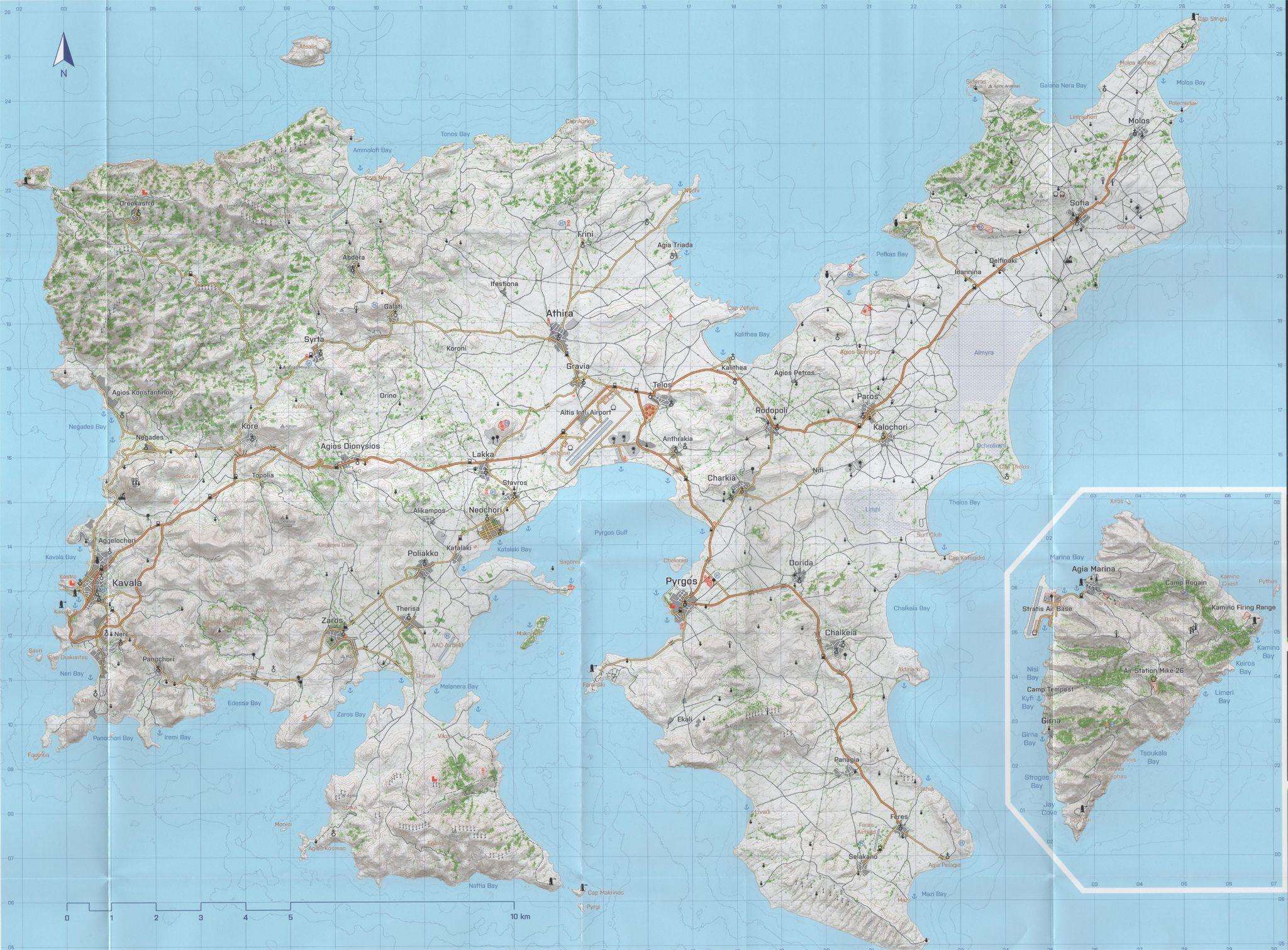 Arma 3 Map | Games And joy | Arma 3, Map, Diagram
