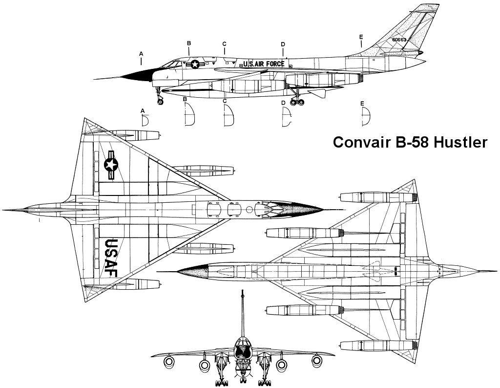 B 58 Hustler