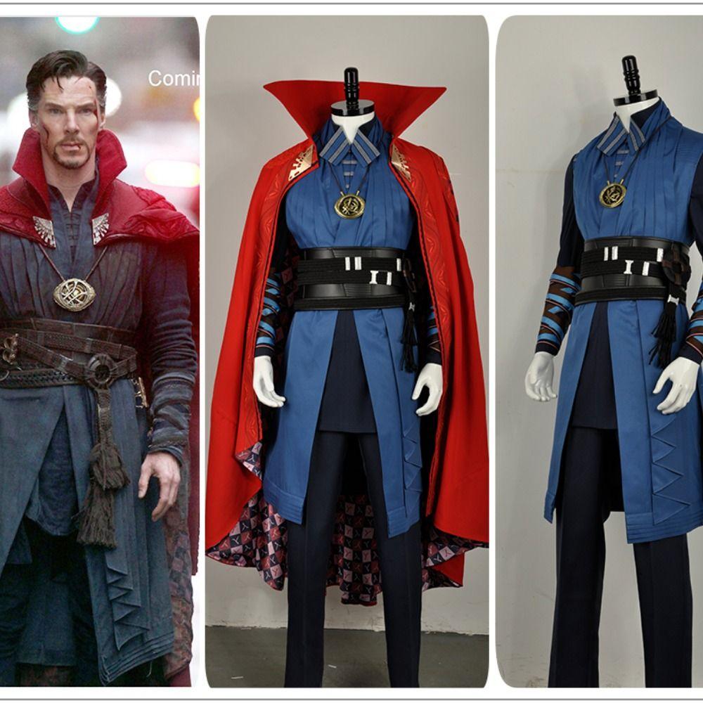 Cosplay Infinity War Doctor Strange Kids Cloak Dr Steve Kids Cosplay Red Robe