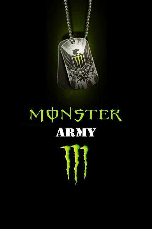 Monster Energy Logo Monster Energy Logo Wallpaper By Drouell On