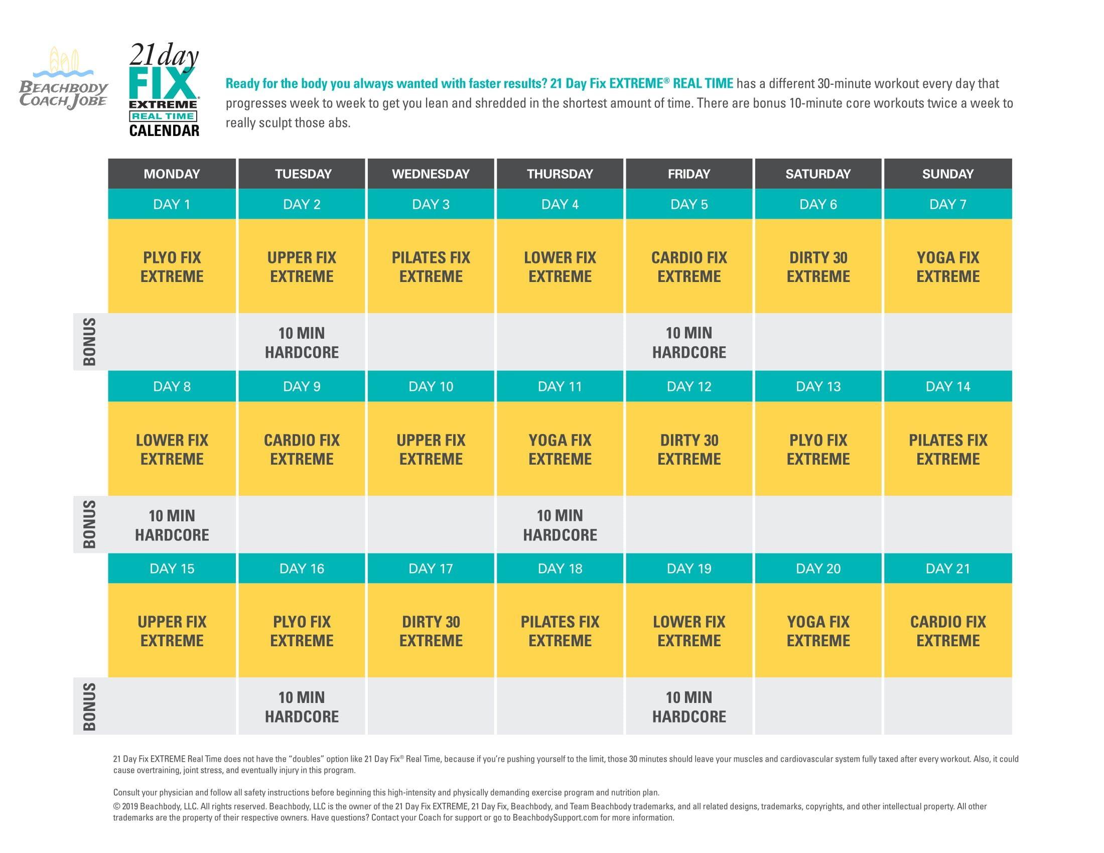 Pin On Fitness Programs Calendars