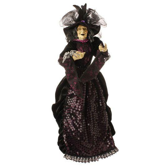 raz imports halloween witch tree topper decoration new - Raz Halloween Decorations