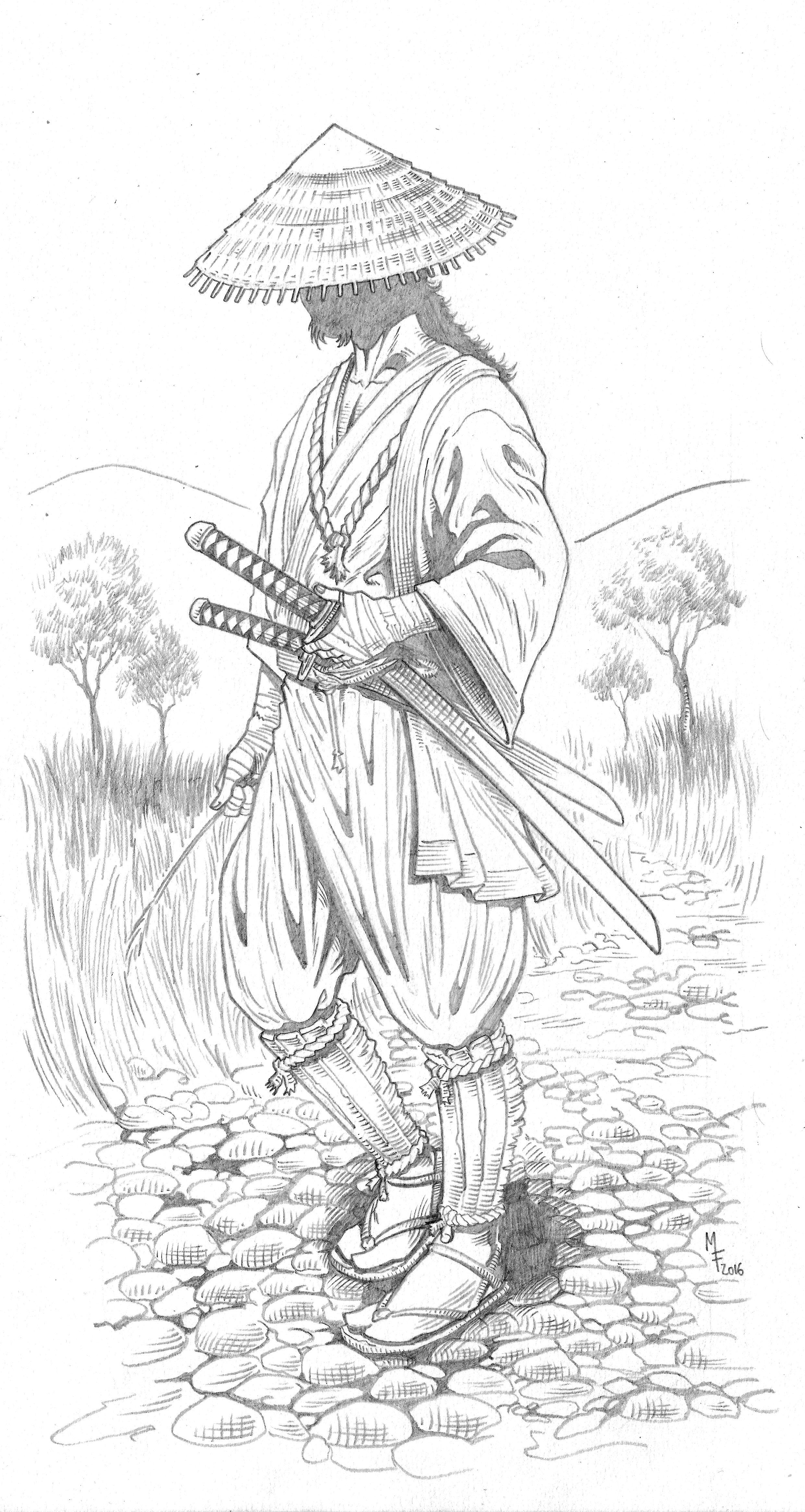 Samurai At Artmarcio Japón