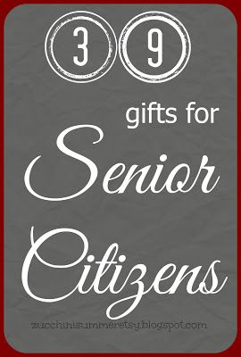 Gift Idea For Elderly Man Woman Grandma Grandpa Christmas Senior Citizen Birthday