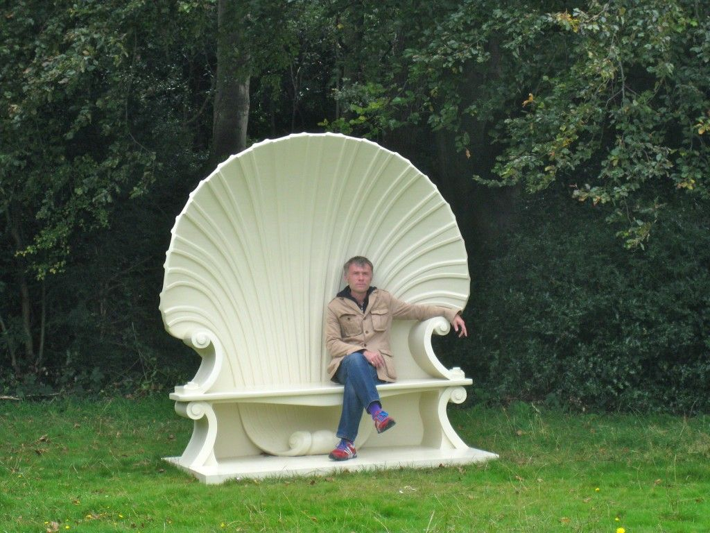 Super Recreation Of Sir Horace Walpoles Shell Chair Garden Art Gmtry Best Dining Table And Chair Ideas Images Gmtryco