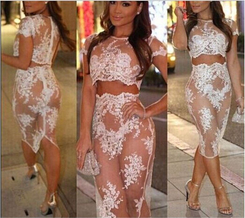 Sheer Party Dress