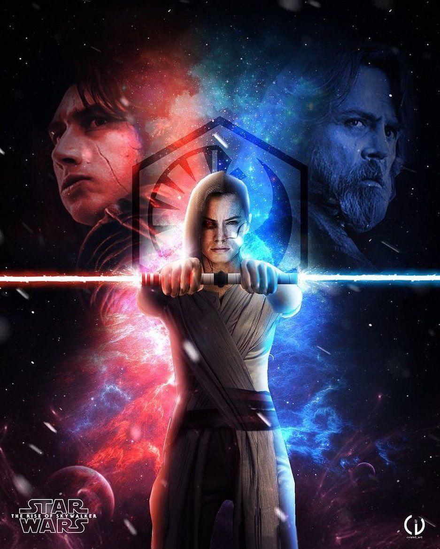 Rey The Rise Of Skywalker Fan Art Starwars Riseofskywalker Episode9 Jedi Sith Theforce Star Wars Comics Star Wars Fandom Star Wars Gif