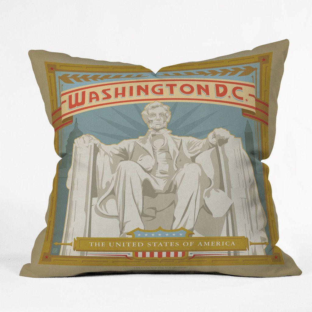 Anderson design group washington dc outdoor throw pillow deny
