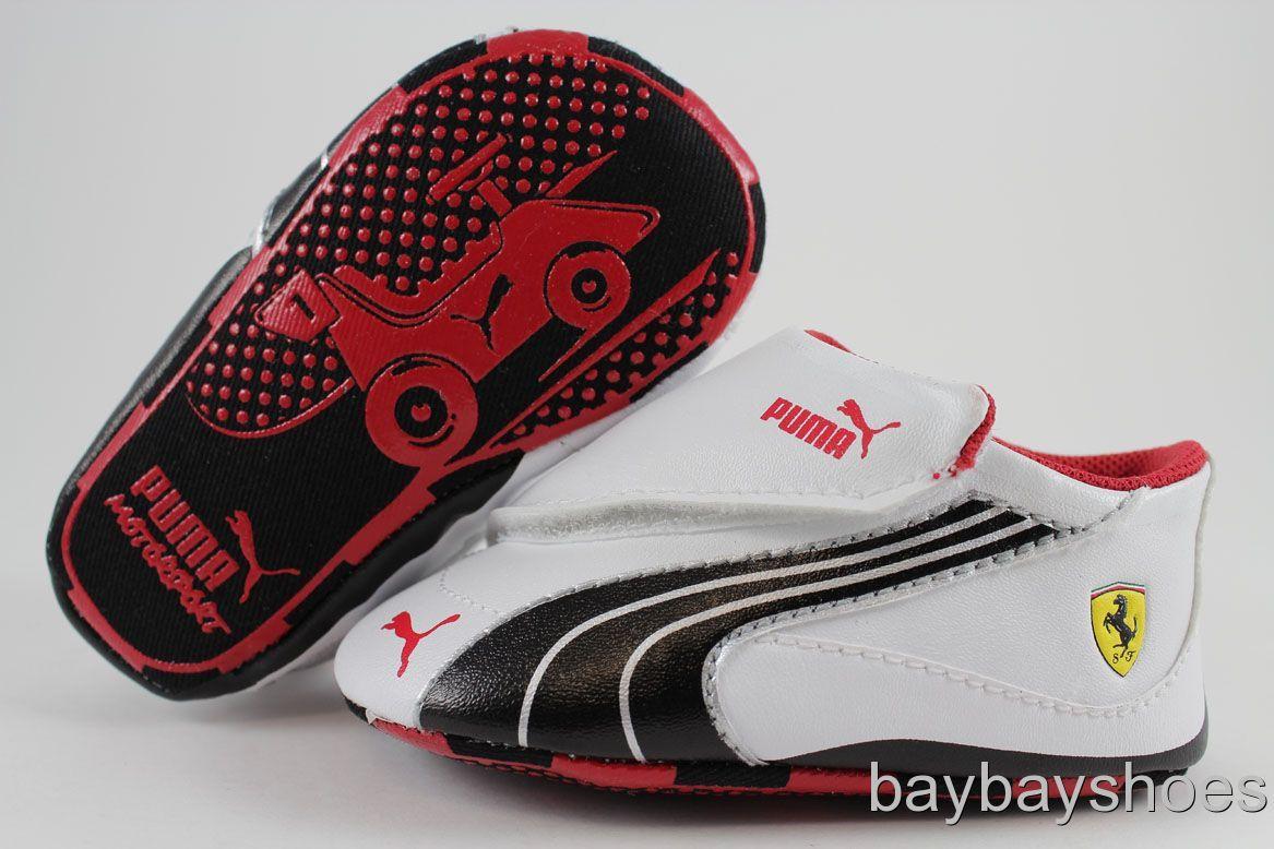 Baby Puma Shoes Silver | Puma Drift Cat 4 SF White Black ...