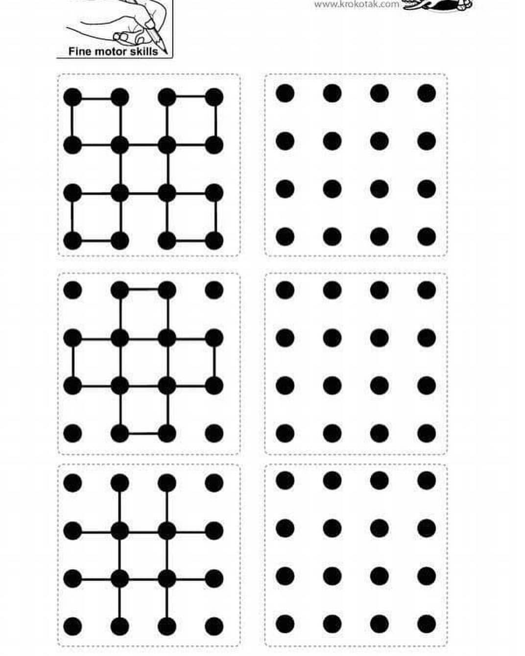 Simetri Dikkat Gorsel Algi Calisma Sayfasi Daha Once