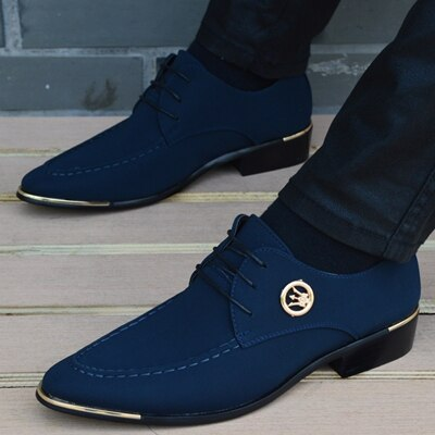 Italian Mens Leather Moccasin Pointed Toe Classic Shoes