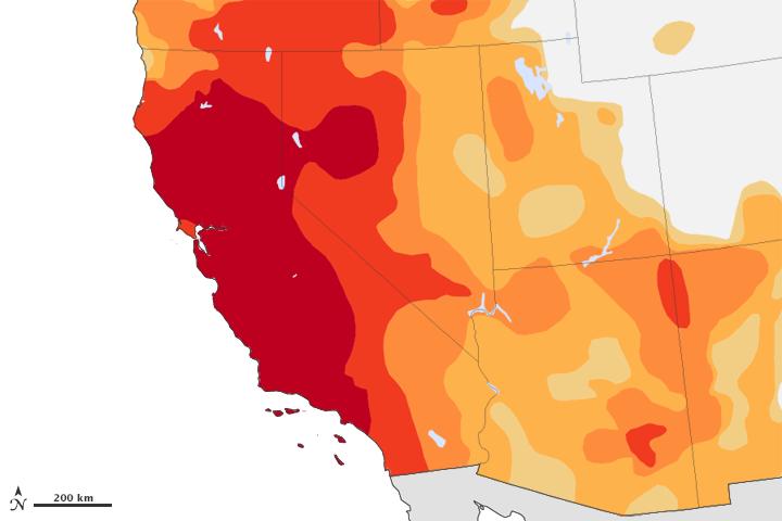 La sequía de California, un ensayo para el futuro (cercano)  #bienvenidosalAntropoceno