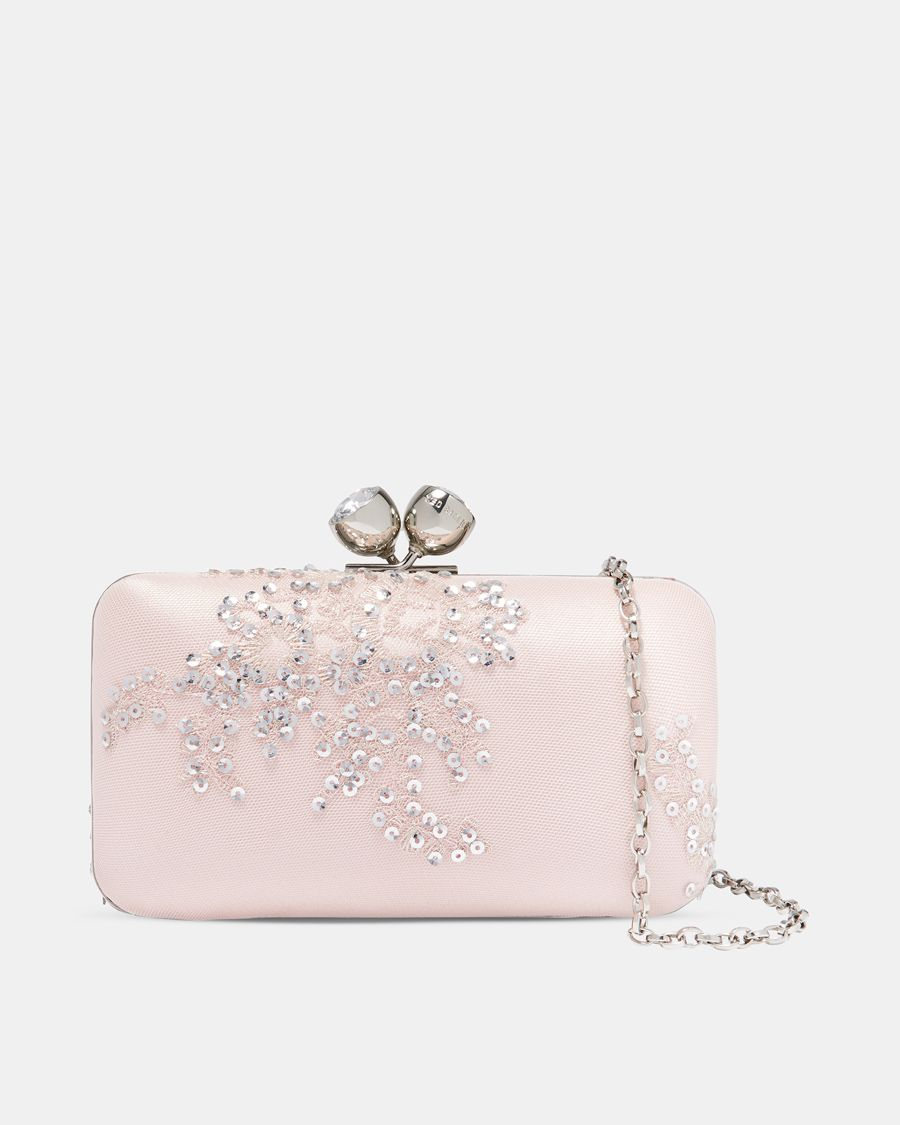Bright pink dress for wedding guest  SHINE BRIGHT with Tedus NAVA clutch  Purses u Bags  Pinterest