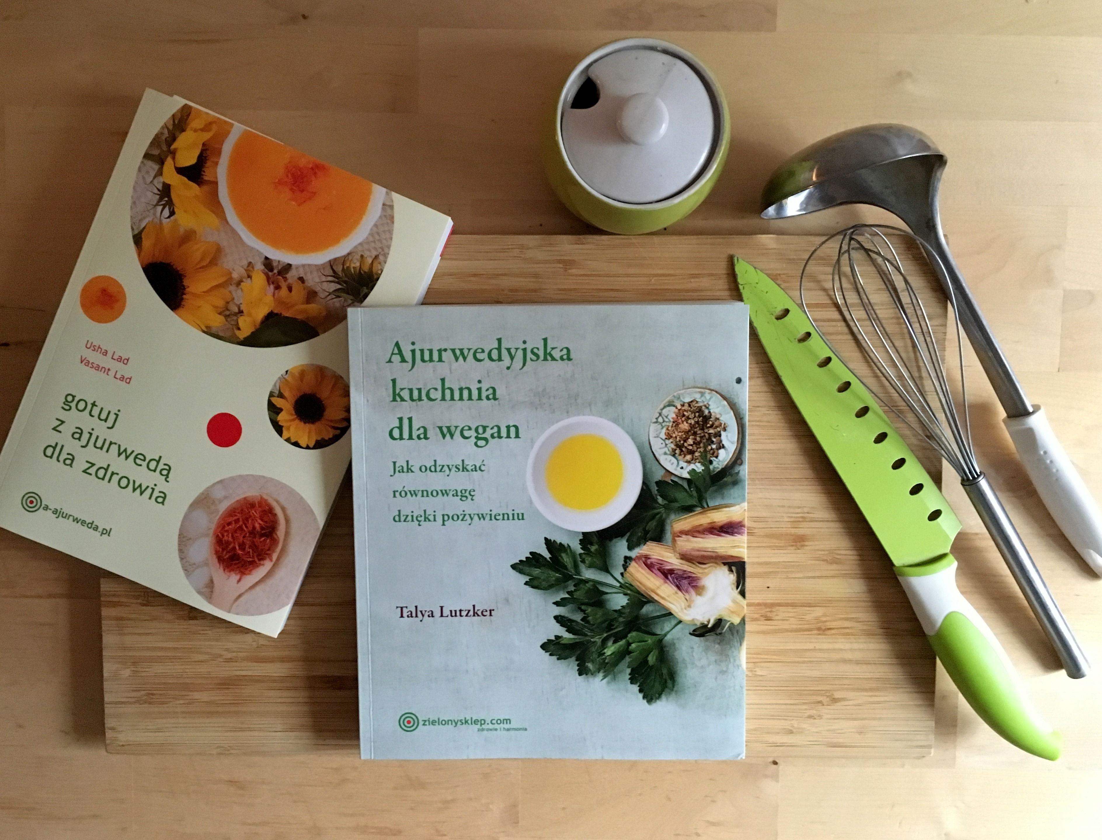 Ajurwedysjka Kuchnia Dla Wegan Ajurwedyjska Książka
