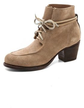 Rag & bone Piper Suede Booties on shopstyle.com