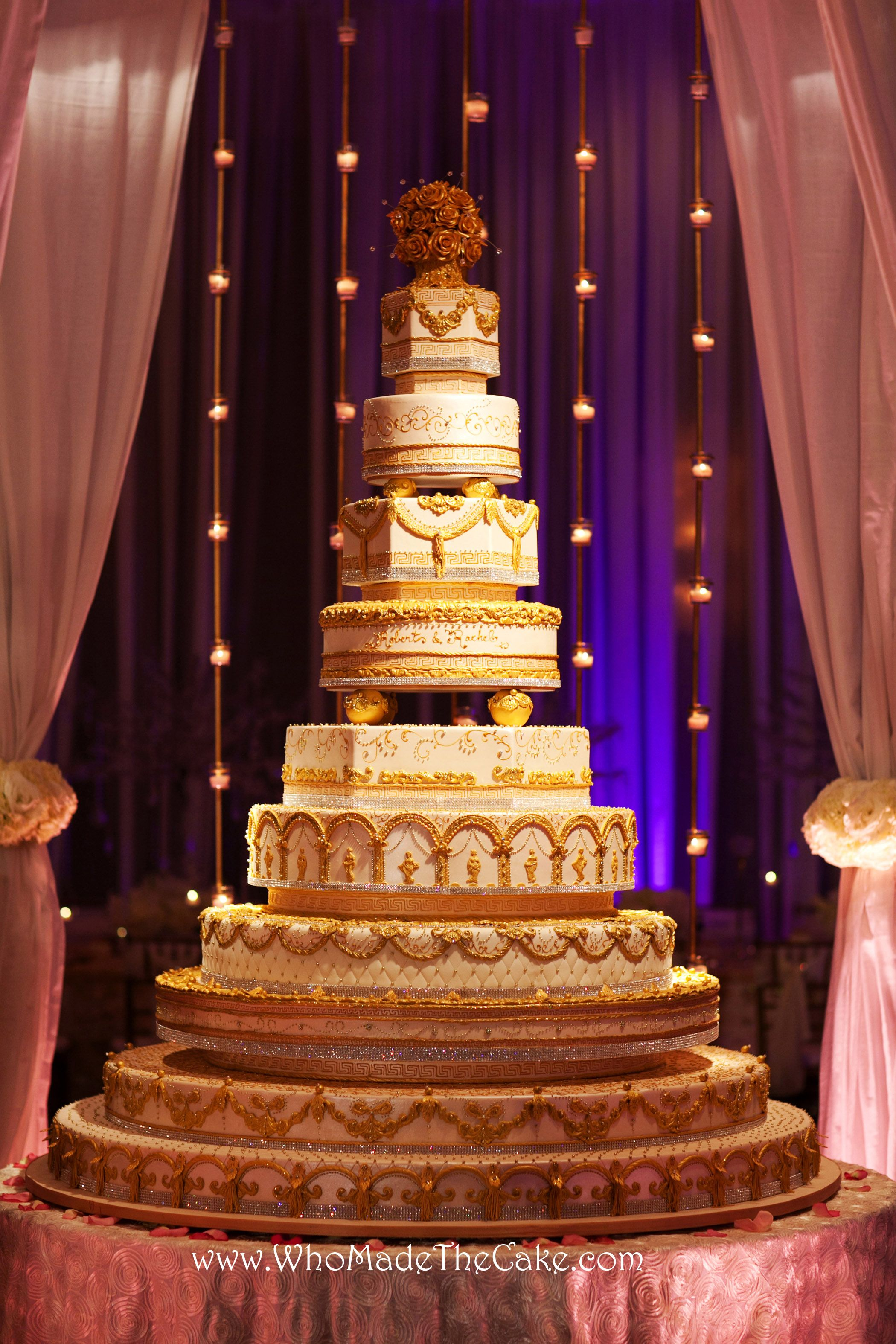 This Versace Inspired Wedding Cake Had A 60 Base Tier