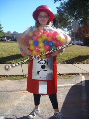 Homemade Gumball Machine Costume — Reliable Vendor