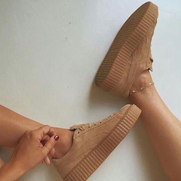 puma creepers oatmeal for sale