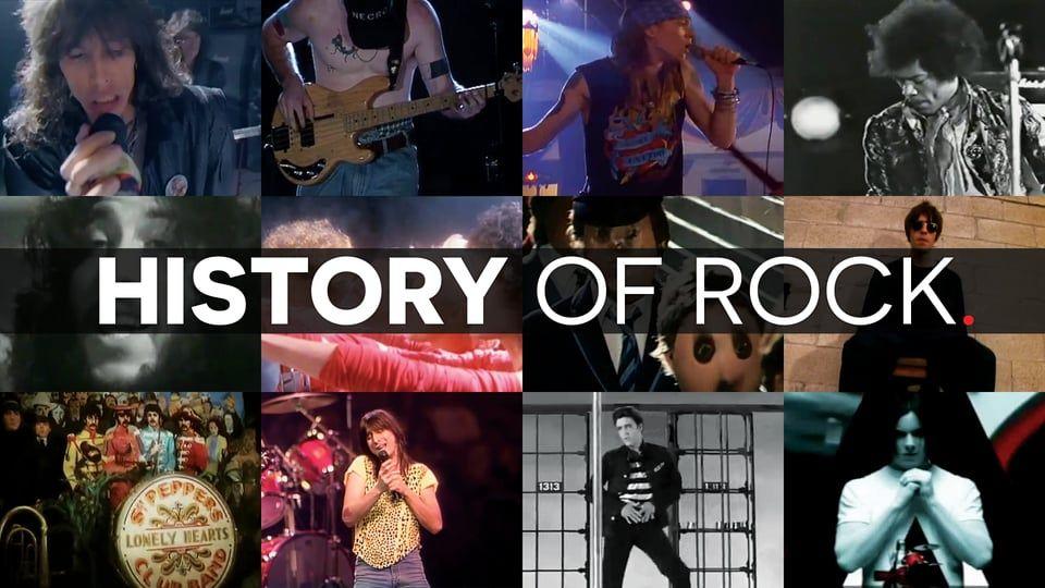 History of Rock on Vimeo