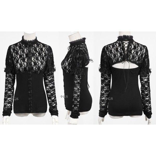 T-shirts Punk Rave Gothic Waist Zipper Stand-collar Black Tops Stretch Knitted Women Punk Rock T-shirt Long Sleeve Crop Tops Shirt Colours Are Striking