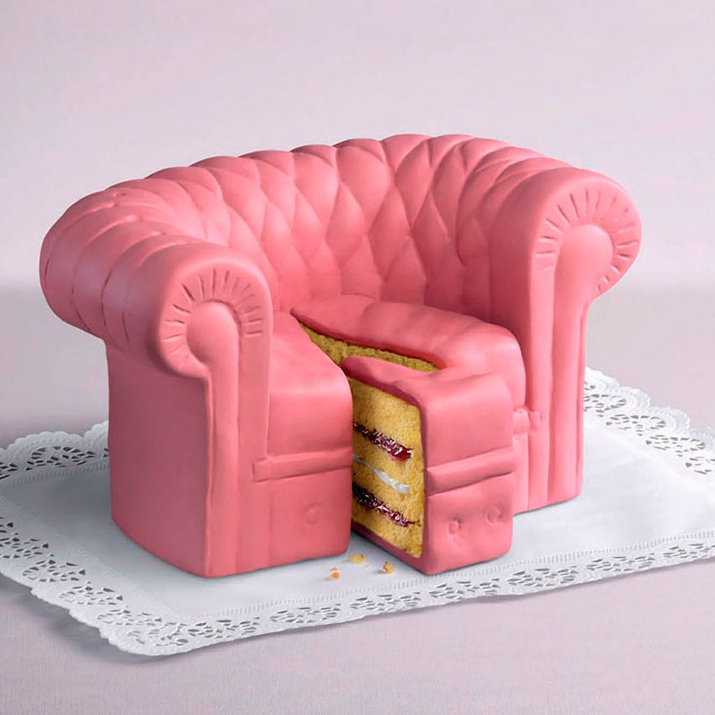 Chair Cake iPad wallpaper