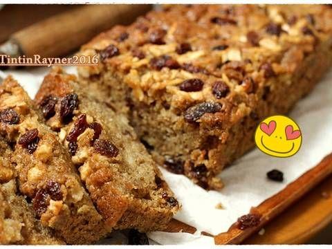 Resep Cake Pisang Apel No Mixer Sangat Sangat Lembut Oleh Tintin Rayner Resep Resep Makanan Kue Pisang