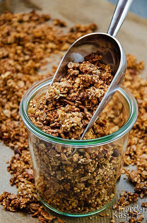 Photo of Homemade: Crunchy Apple-Cinnamon-Muesli – Herd (s) Kasper