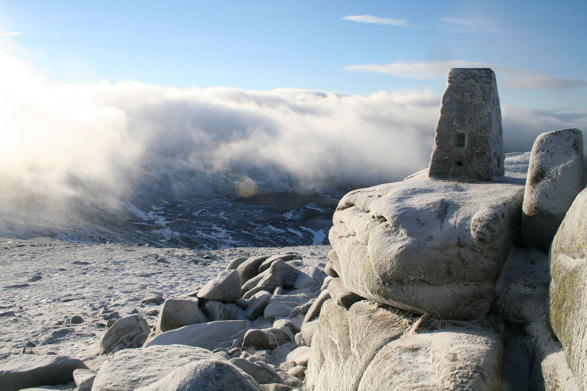 It Can Be Lonely On Top For A Trig Pillar