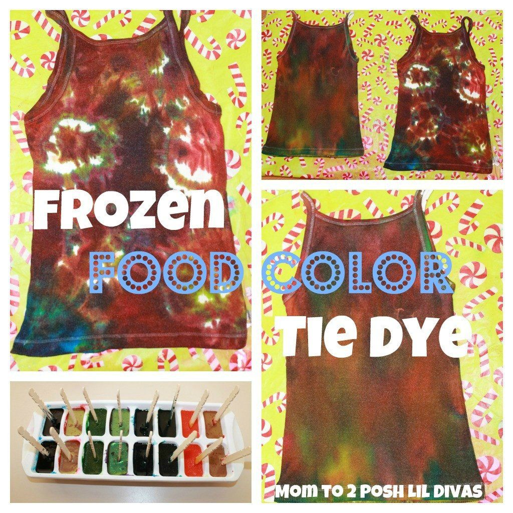 Tie Dye With Food Coloring New How To Tie Dye With Food