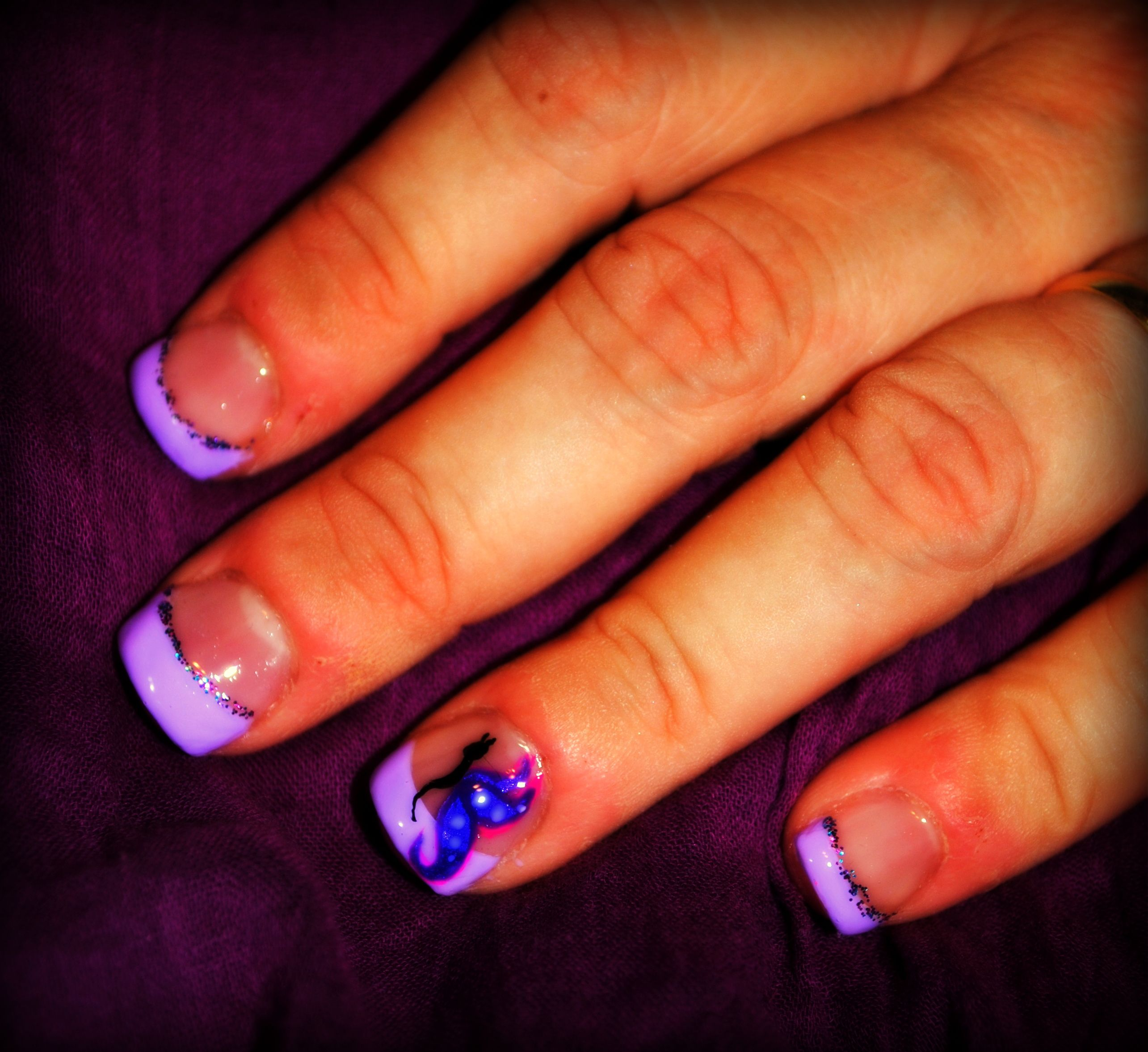 Lupus Awareness Nails! by Molli Makool | Nails | Pinterest | Lupus ...