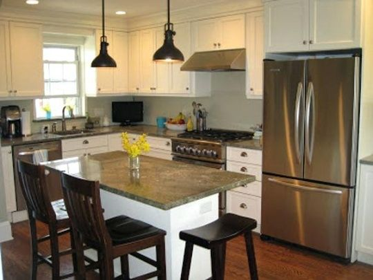 8 Best Small Kitchen Island Ideas With Seating Images Kitchen Layout Small Kitchen Island Kitchen Interior