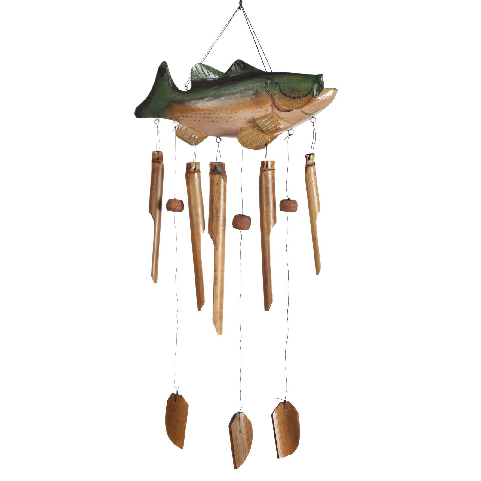 Bass Fish Wind Chime Wind Chimes Large Wind Chimes Bamboo Wind Chimes