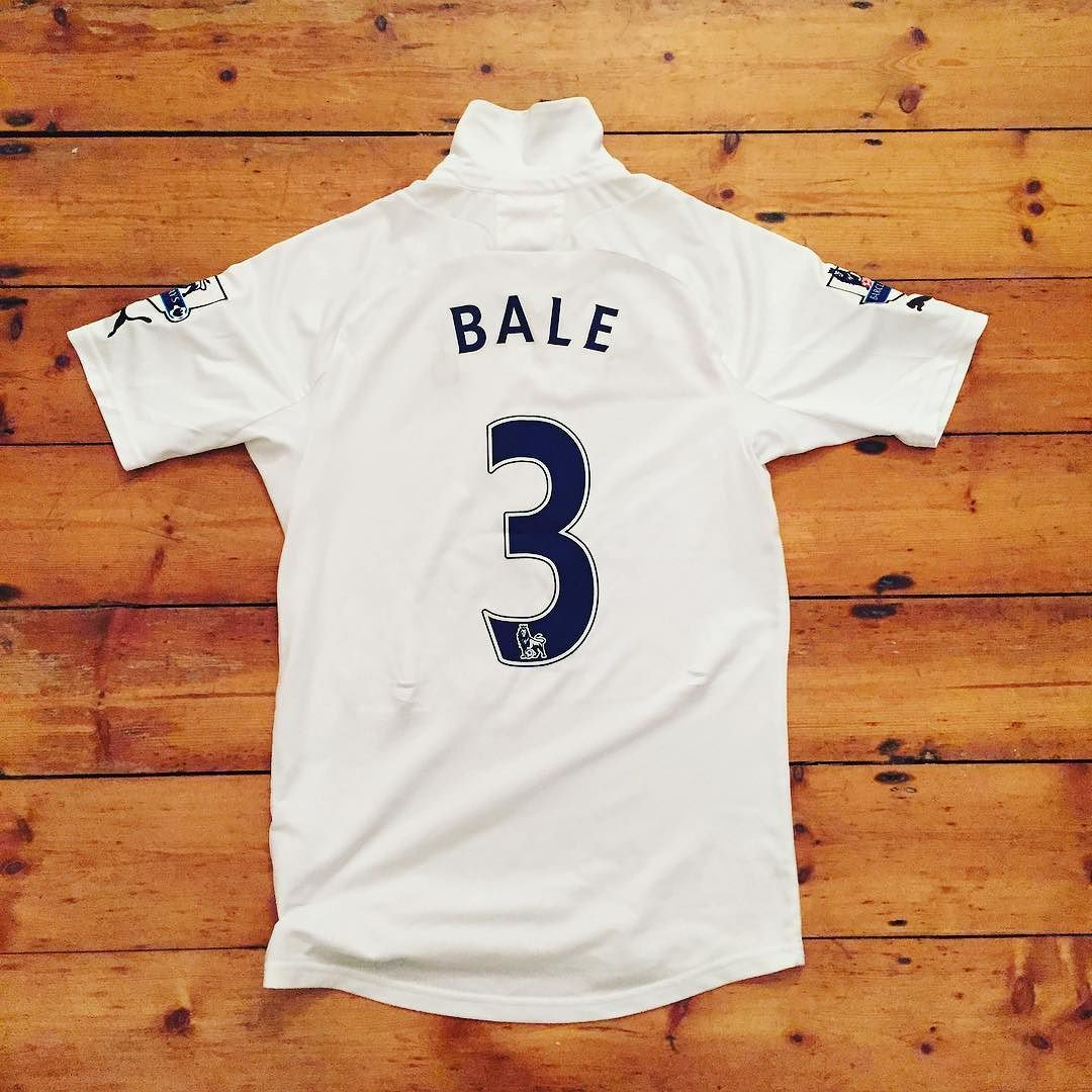 302512ac8 He was born to play for  spurs - Bale home shirt  3 size S  spurs ...