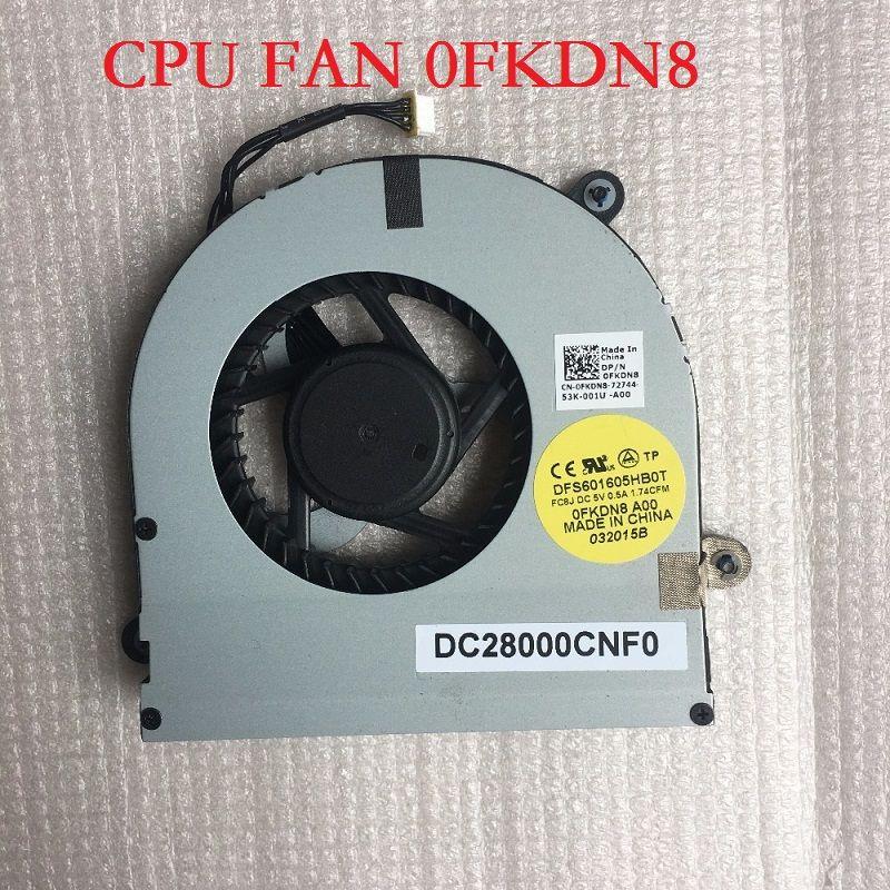 Laptop Cpu Fan For Dell M17x R3 R4 Dfs601605hb0t Fc8j 0fkdn8