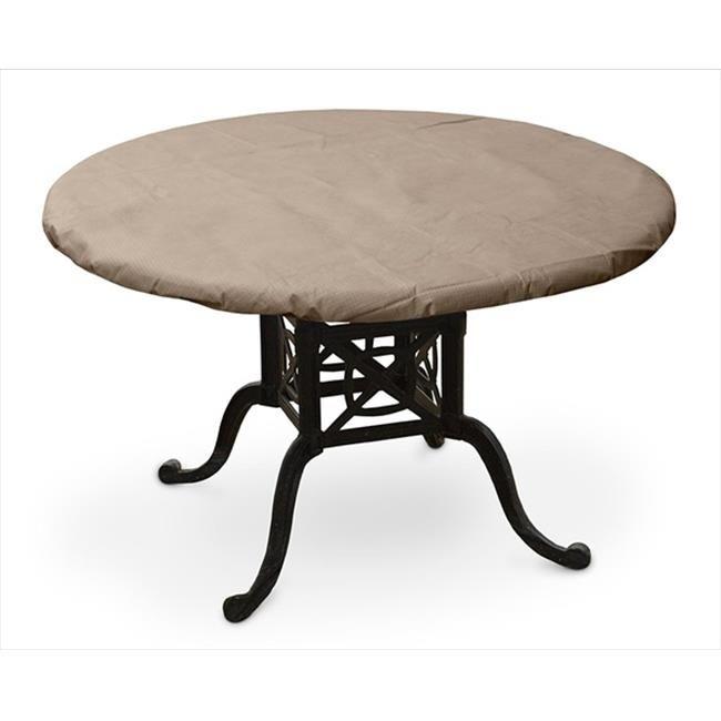 Koverroos 31560 Koverroos Iii 50 In Round Table Top Cover 44 Taupe 54 Dia In Table Top Covers Round Table Top Round Dining Table