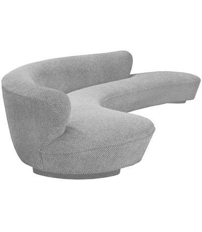 Vladimir Kagan Free Form Curved Sofa | Furniture | Pinterest ...