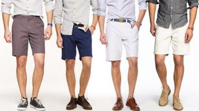 5e9dde457eab How To Pull Off Shorts | Men's style | Shoes with shorts, Men, Men's ...