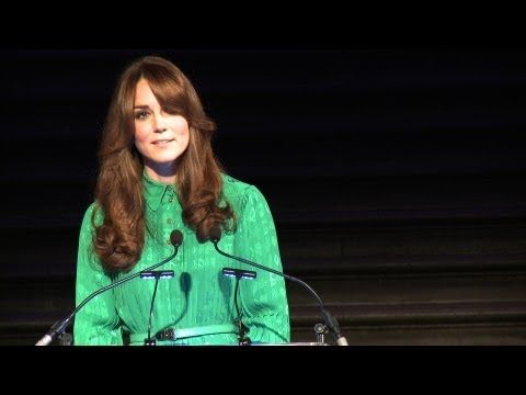 HRH The Duchess of Cambridge unveils the Museum's Treasures | Natural History Museum