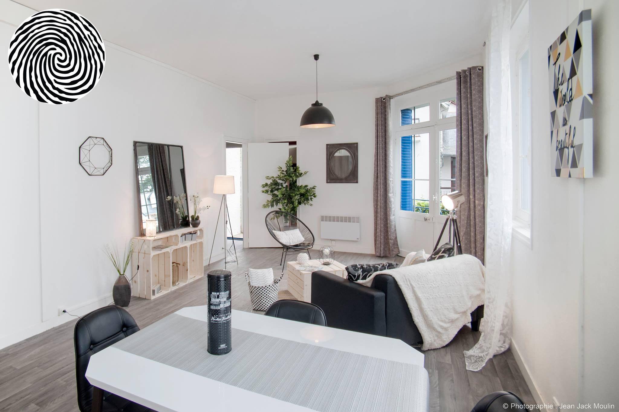 Aménagement d\'un appartement style loft à La Baule réalisé à ...