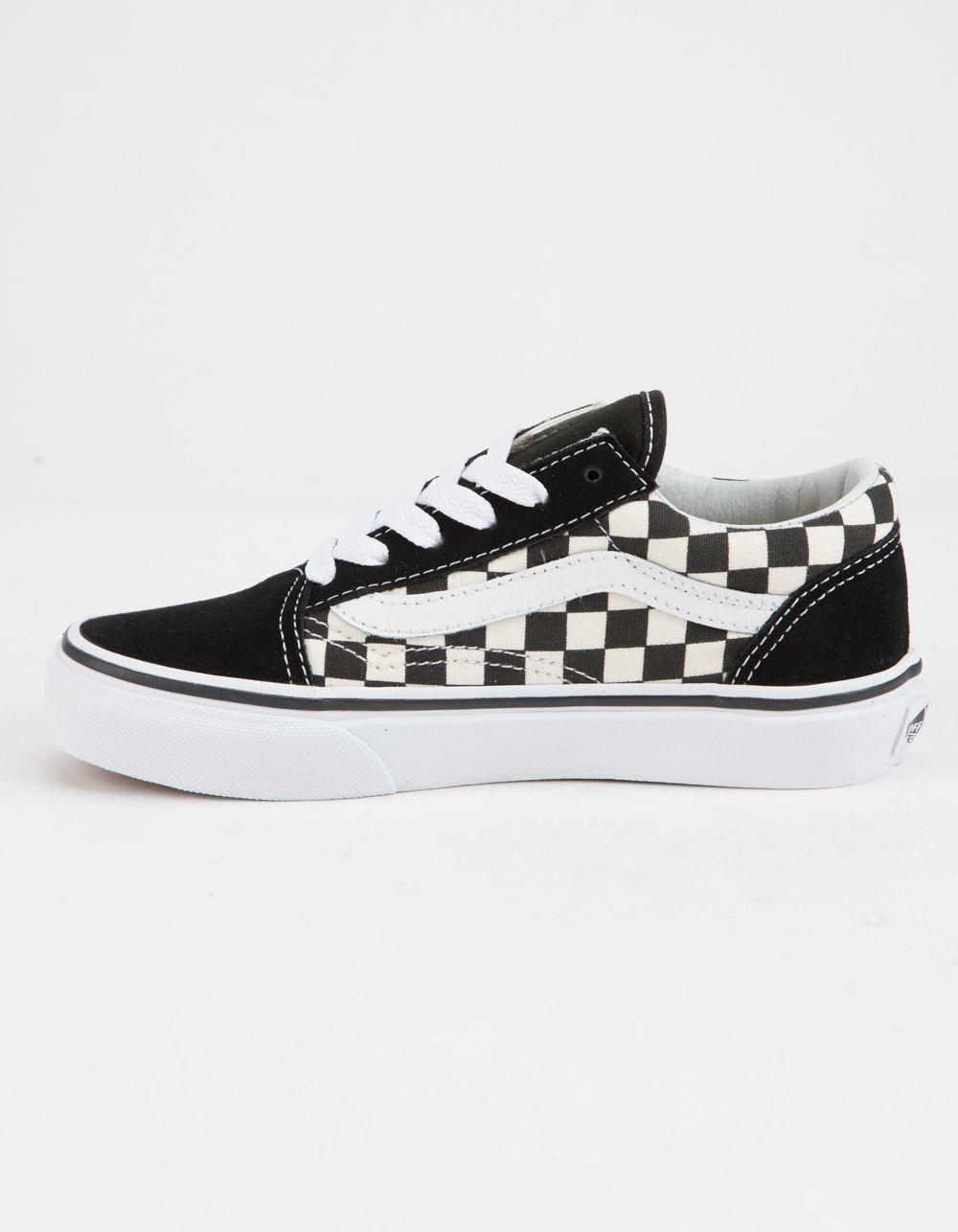 Kids shoes, Vans checkerboard